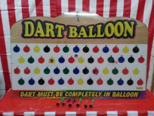 Large Balloon Suction Dart Carnival Game