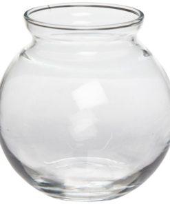 "4"" Glass Ivy Bowl"