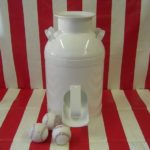 Milk Can Toss Carnival Game