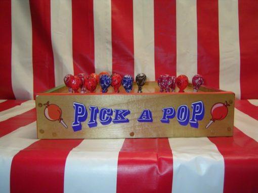 Pick a Pop Carnival Game