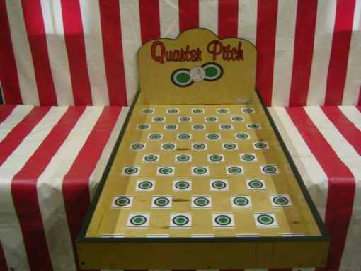 Quarter Pitch Carnival Game