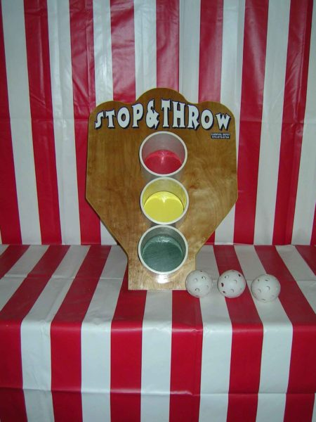Stop And Throw Carnival Game