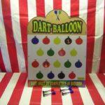 Balloon Suction Dart Carnival Game
