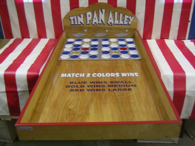 Tin Pan Alley Carnival Game
