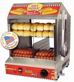 The Hotdog Hut Steamer