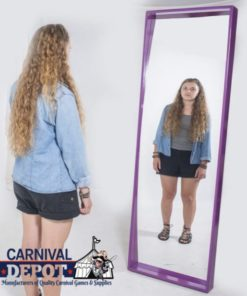 Funhouse Mirror 6' (Purple Frame)