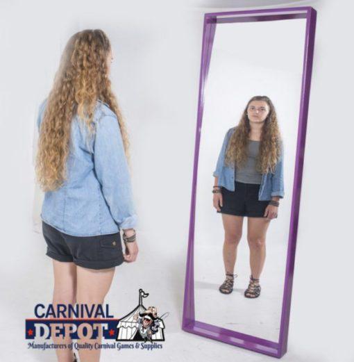 Funhouse Mirror 6' (Purple Frame)