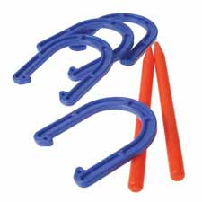 Plastic Horseshoe Set