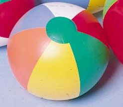 Beach Ball Inflate Carnival Prize