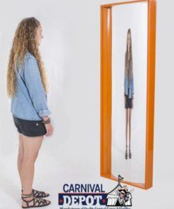6' Funhouse Mirror Orange