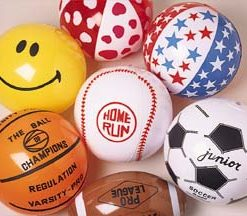Inflatable Ball Assortment