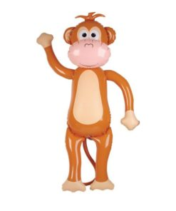 """Monkey Inflate 67"""" Carnival Prize"""