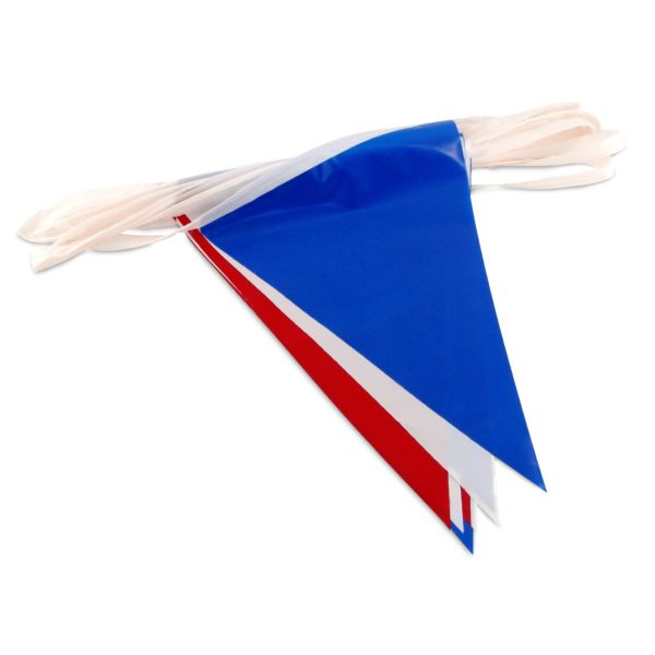 Red White Blue Pennant