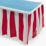 Carnival Table Skirting Carnival Supplies