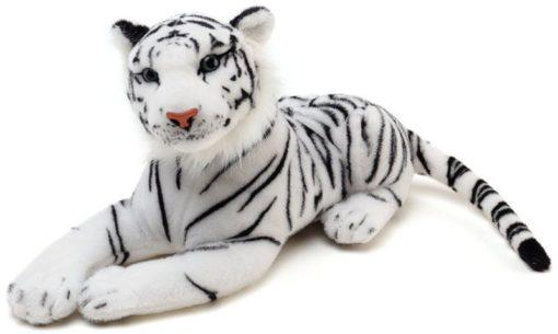 "40"" White Tiger Plush"