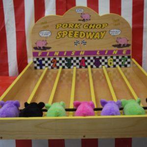 Porkchop Speedway carnival Game