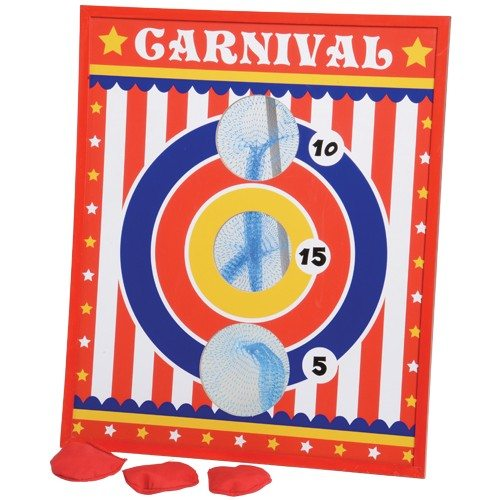 Carnival Bean Toss Game