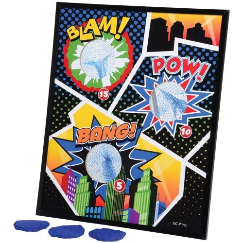 Superhero Bean Toss Game
