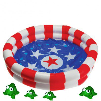 Inflatable Frog Pond