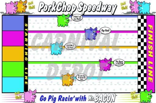 porkchop speedway carnival sign
