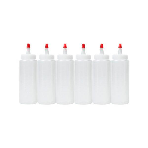 Empty Spin Art Paint Bottles