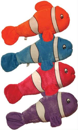 Super Soft Stuffed Animals For Babies, Clown Fish Plush 23 Plush Prizes From Carnival Depot