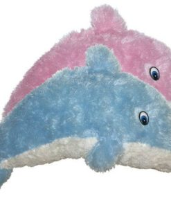 Furry Dolphin Carnival Prize Plush