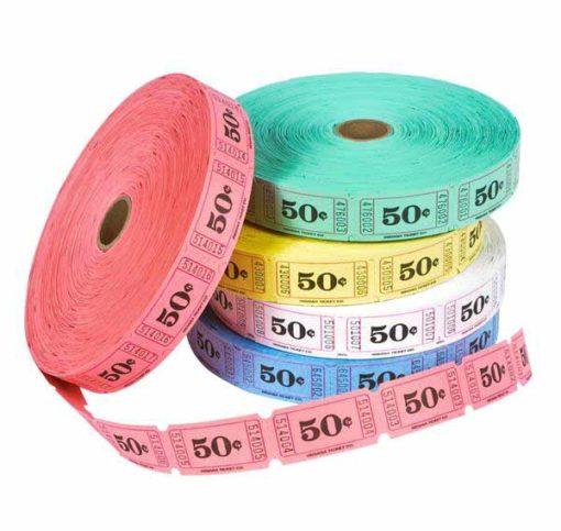 Single Roll Ticket .50