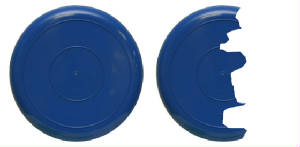 Break A Plate Blue