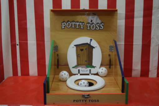 Potty Toss Case Game