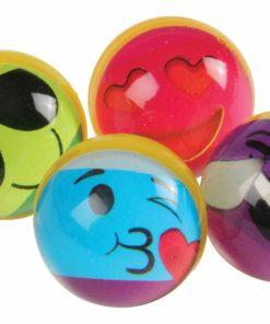 Rainbow Emoji Bounce Balls