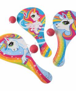 Unicorn Paddle Balls