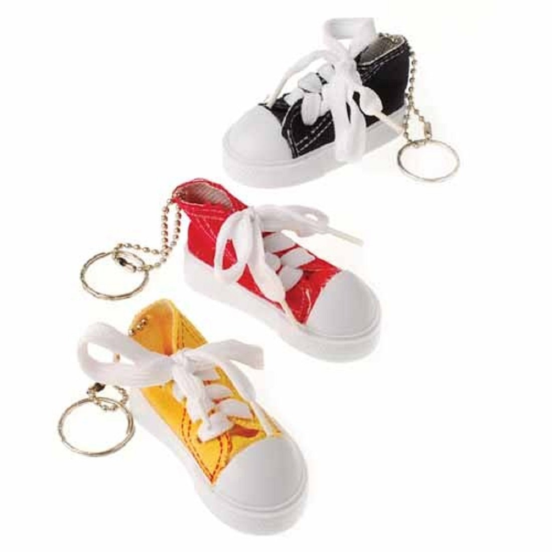 Lace Up Sneaker Key Chains Carnival Prize