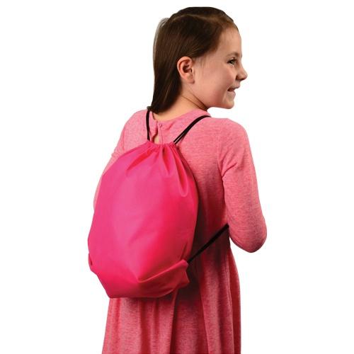 Neon Drawstring Backpacks Carnival Prize