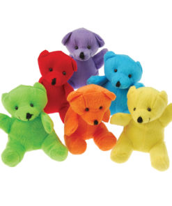 Plush Neon Teddy Bears