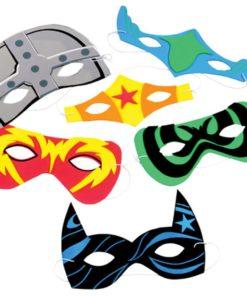 Superhero Foam Mask Carnival Prize