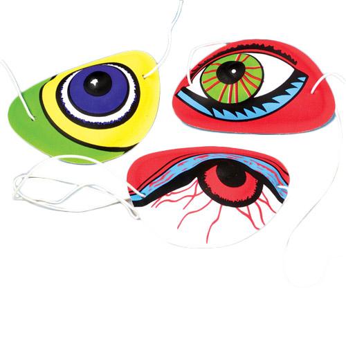 Crazy Eyes Eye Patches Carnival Prize
