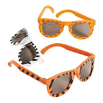 Kid's Animal Print Sunglasses
