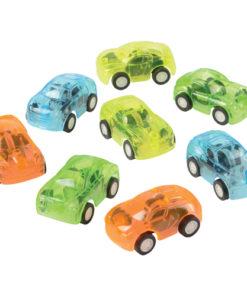 Transparent Pull Back Cars Carnival Prize