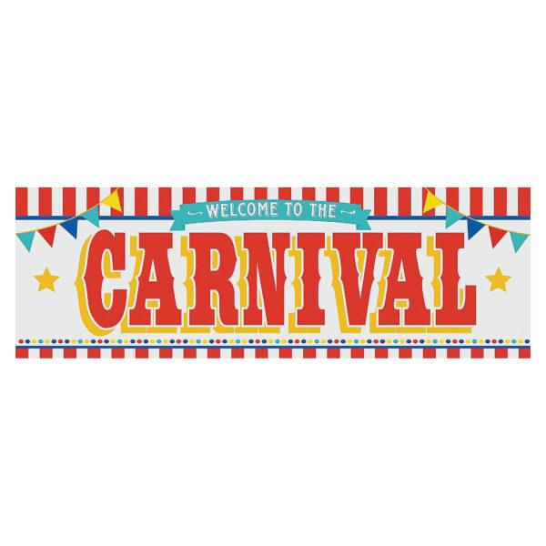 Carnival Plastic Banner