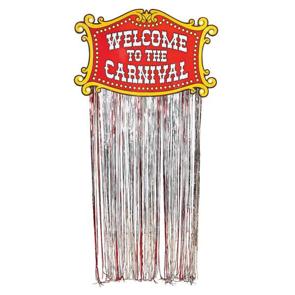 Foil Carnival Door Curtain