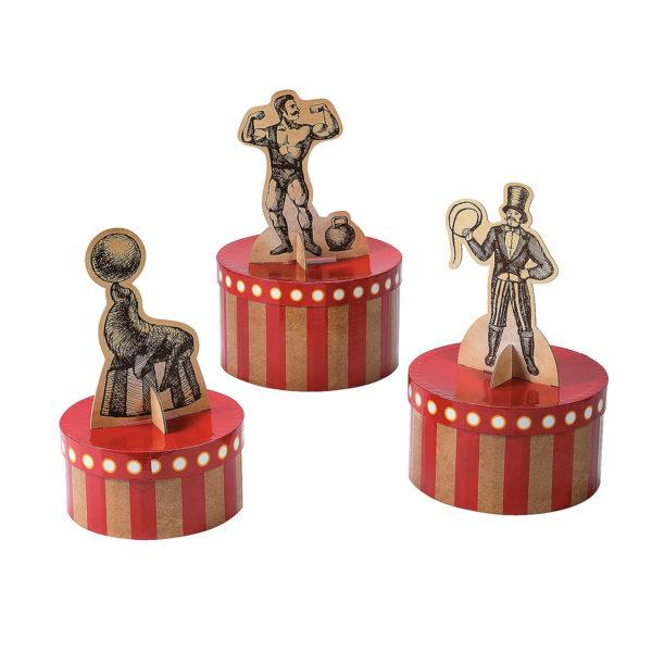 Vintage Circus Centerpiece Set