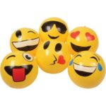 Emoticon Inflatable Balls